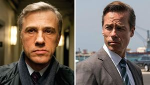 "Christoph Waltz ve Guy Pearce ""The Portable Door"" Filminde Buluşuyor"