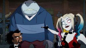 The Suicide Squad Hayran Tasarımında Harley Quinn ve King Shark Bir Arada!