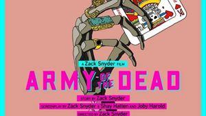 "Zombi Temalı ""Army of The Dead""den Bir Renkli Poster Daha!"