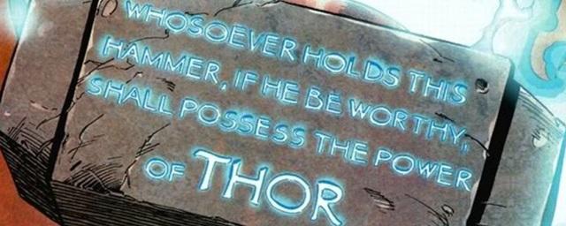 Thor'un Çekicini Kullanabilen Çizgi Roman Karakterlerine Yakından Bakın