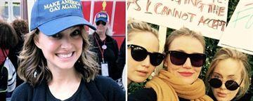 Kadınlar Yürüyüşü'ne Ünlü Aktrislerden Destek!