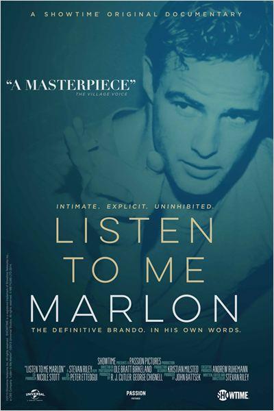 Listen to Me Marlon : Afis