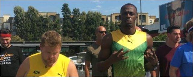 James Corden, Usain Bolt'a Karşı!