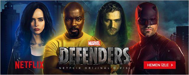 The Defenders Bugün İtibariyle Netflix'te!