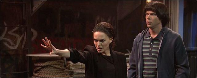 Natalie Portman Stranger Things Parodisinde Eleven'ı Canlandırdı